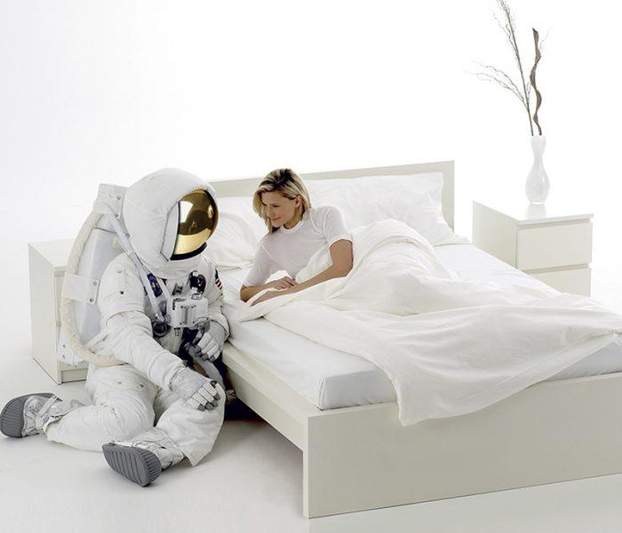 Thermal regulating bedding