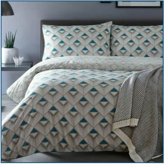 Axis Duvet Set Blue