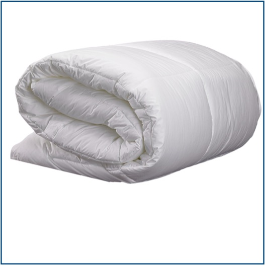 High quality fibre and feather duvets in British sizes
