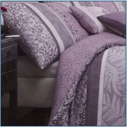 Hanworth Duvet Set Heather