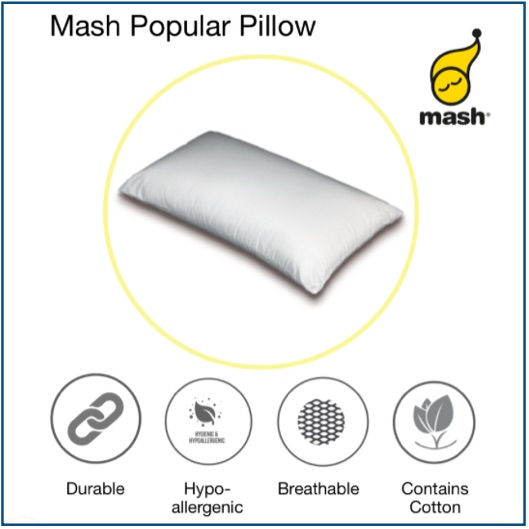Affordable hollow fibre pillow