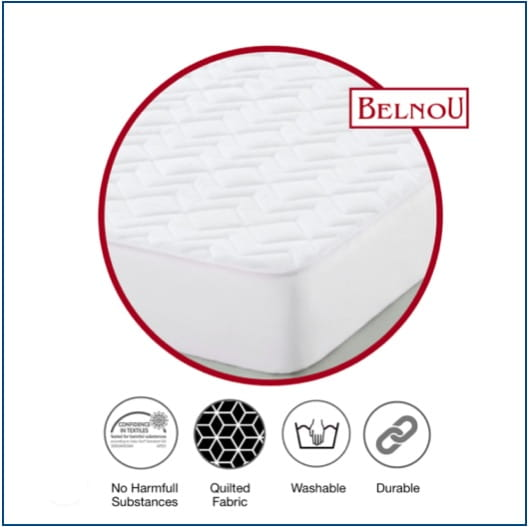 Belnou Nube Quilted Mattress Protector