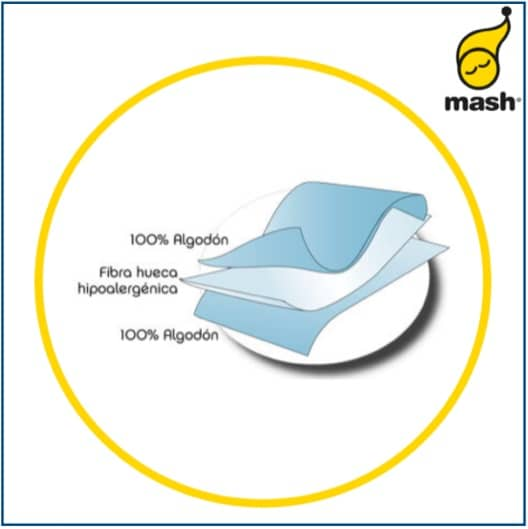 Mash Alaiz Quilted Mattress Protector
