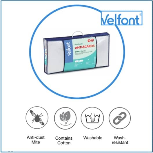 Velfont Antidustmite Pillow