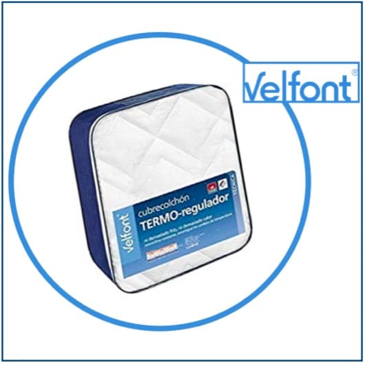 Velfont Termo-Regulador Quilted Mattress Protector