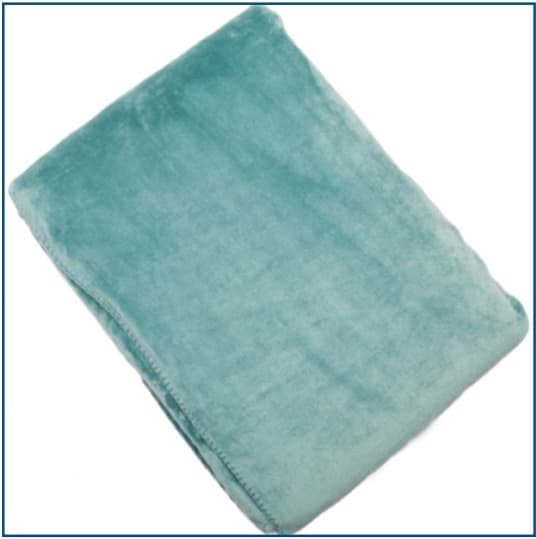 Cosy Duck Egg Blue Throw