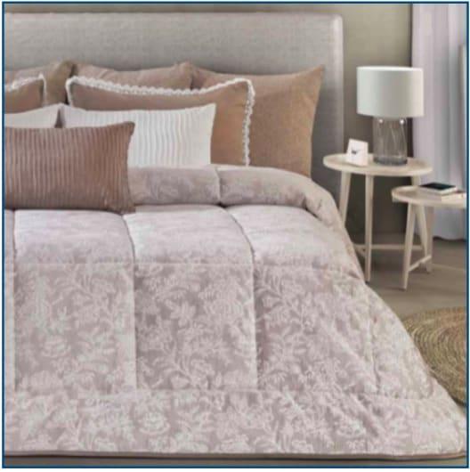 Erasmo Bedspread Taupe