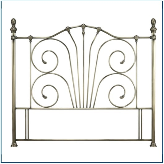 Jessica Antique Bronze Headboard