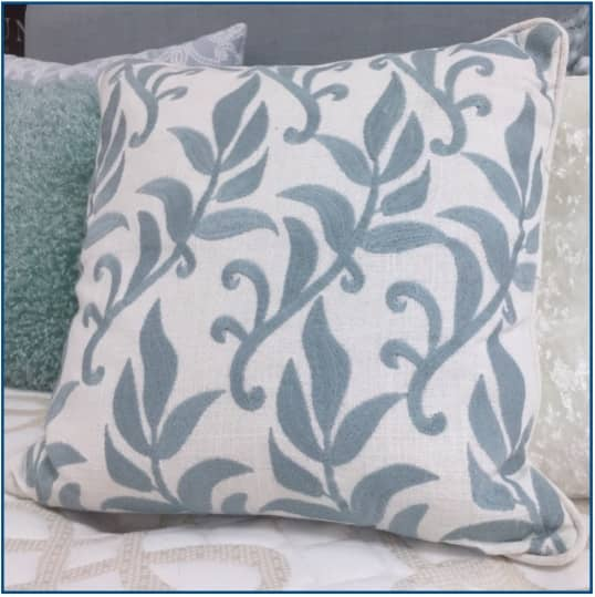 Portofino Cushion Cover Duck Egg Blue