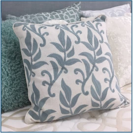 Portofino Duck Egg Blue Cushion Cover