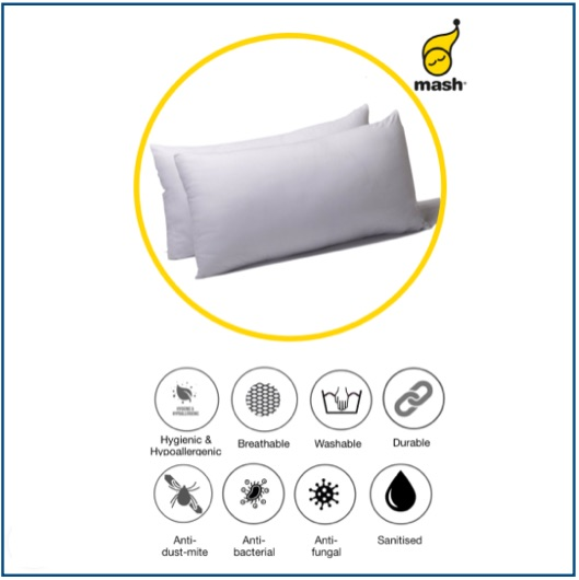 Soft, fine waterproof pillow protector made from sustainable fabric