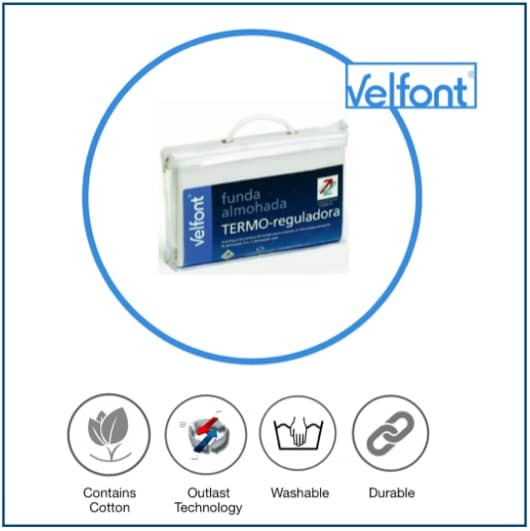 Velfont Thermal-regulating Pillow Protector