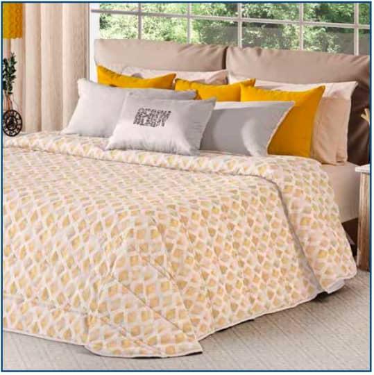 Voltaire Bedspread Yellow