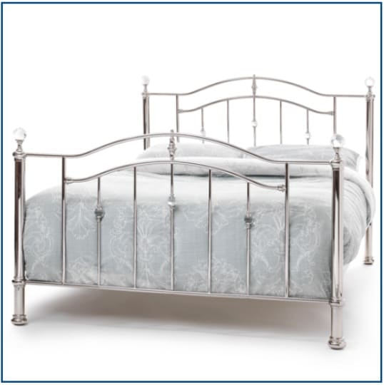 Ashley Nickel Bedstead