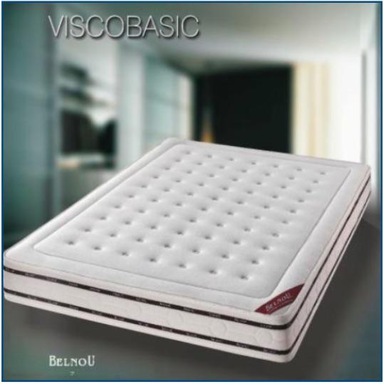 Hypo-allergenic foam mattress with a stretch aloe vera cover