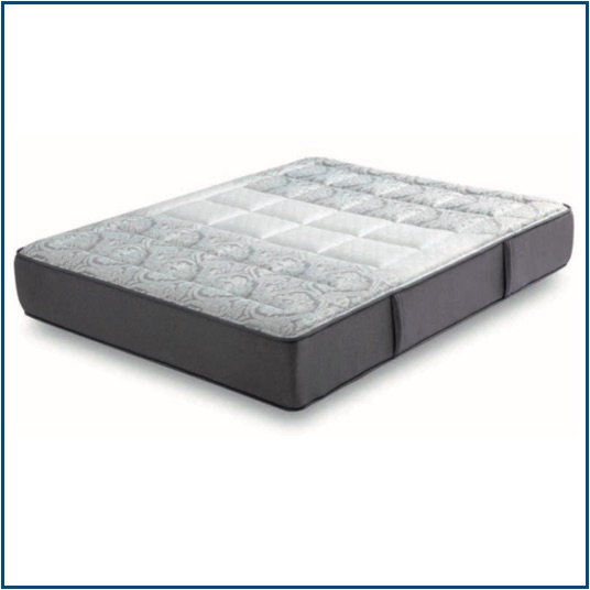 Medium-soft pocket spring mattress with soft foam on both sides