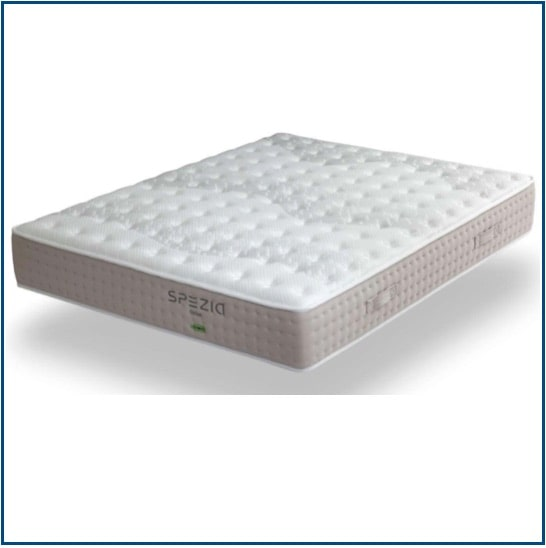 Medium-firm feel, summer and winter sided pocket spring mattress