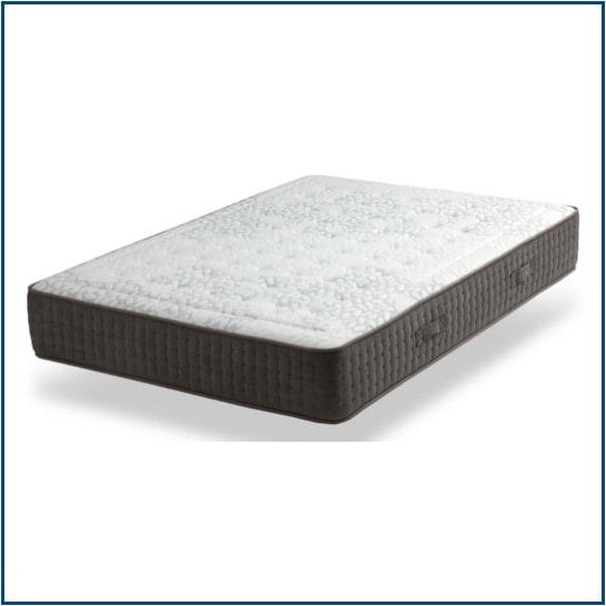 Medium-firm feel, pocket spring mattress with breathable memory foam on both sides.