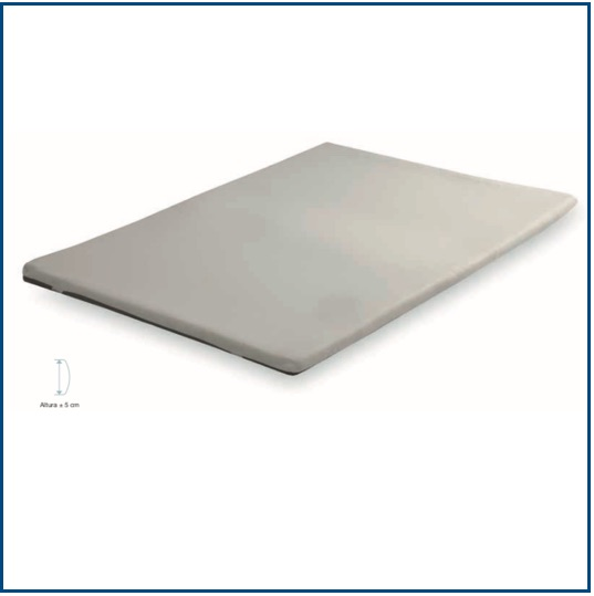 5cm thick breathable memory foam topper
