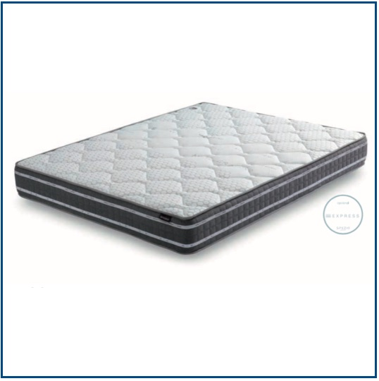 Medium-firm, reversible breathable foam mattress