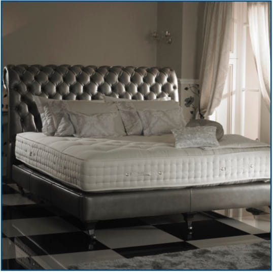 Burgess Chesterfield Bedstead