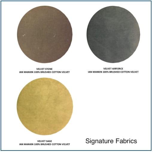 Burgess Signature Swatch