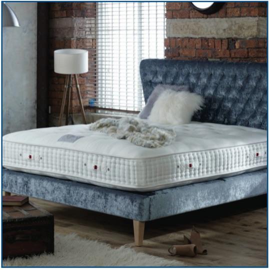 2000 Binary pocketed spring natural mattress