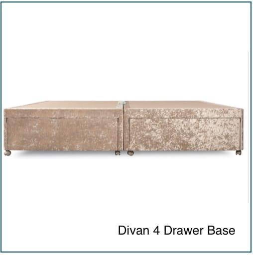 Sweet Dreams Divan 4 Drawer Base