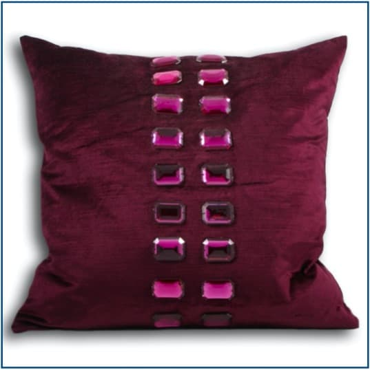 Bangle Magenta Cushion Cover