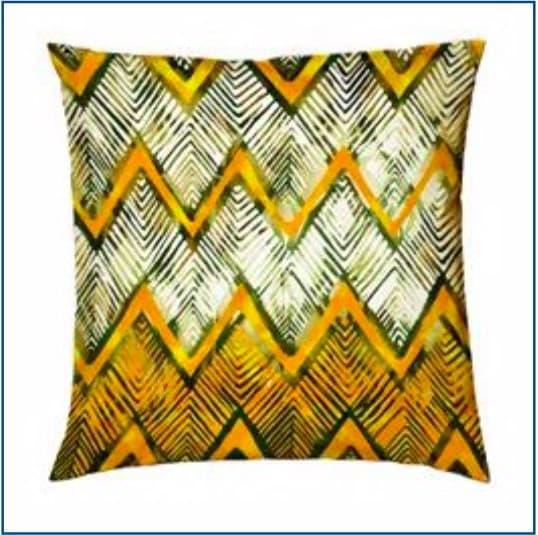 Chevron Yellow Cushion Cover
