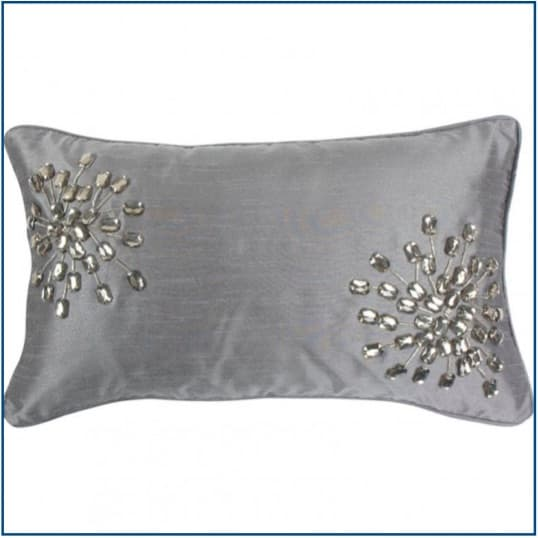 Chicago SIlver Cushion Cover