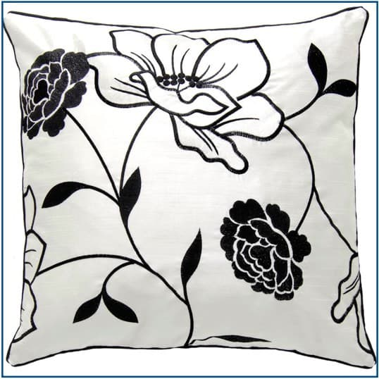 Chloe Black Cushion Cover