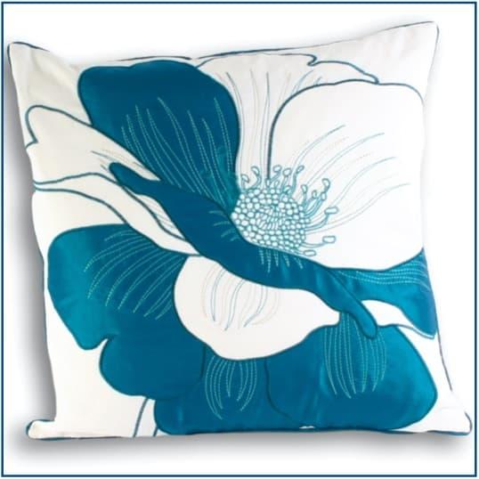 Davina Teal Cushion Cover