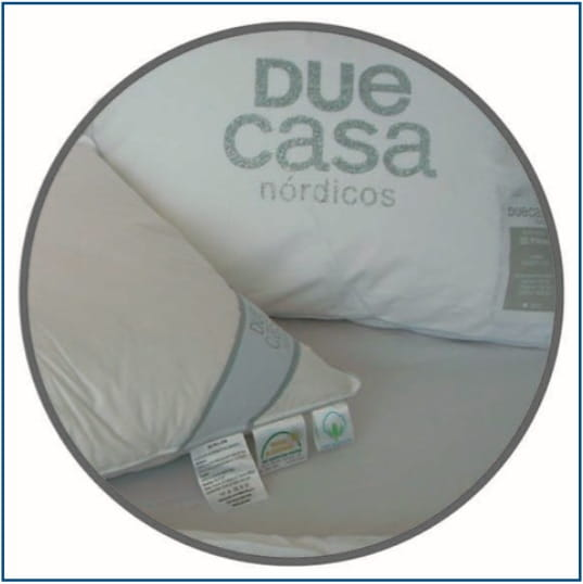 Due Casa 3D Pluma Pillow