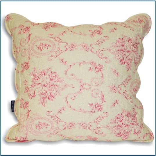 Etoille Pink Cushion Cover