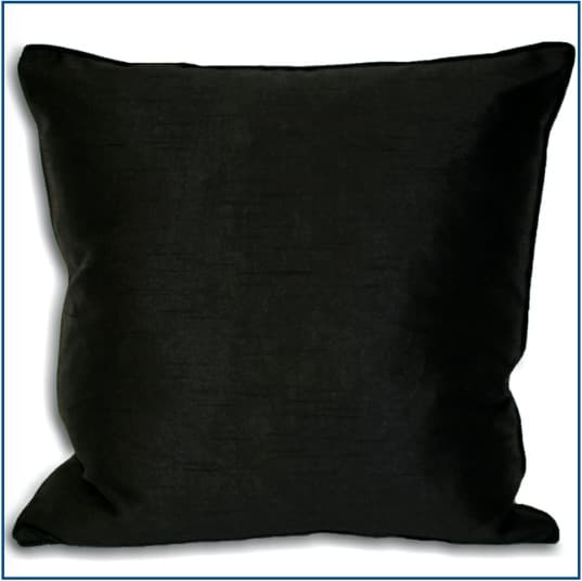 Fiji Black Cushion Cover