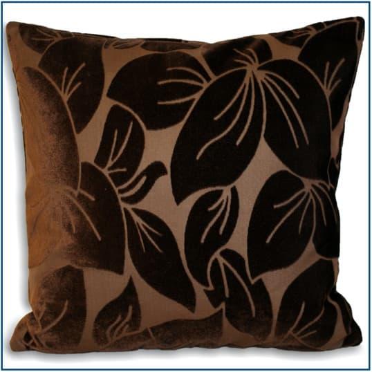 Glendale Chocolate Cushion Cover