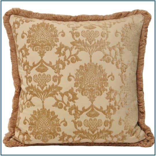 Hanover Beige Cushion Cover