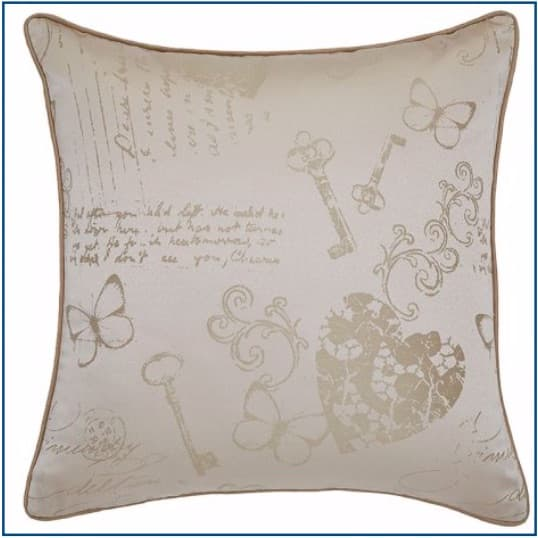 Les Sites de Paris Natural Cushion Cover