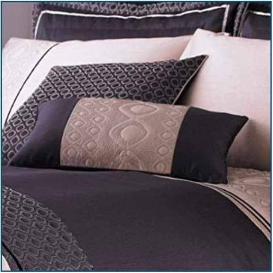 Luxury Geo Cushion Cover