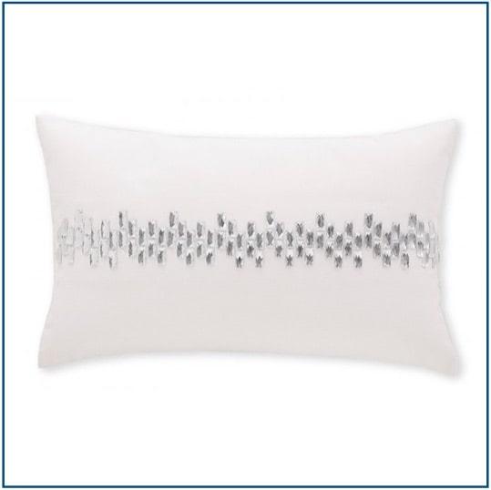Luxury White Cushion Cover