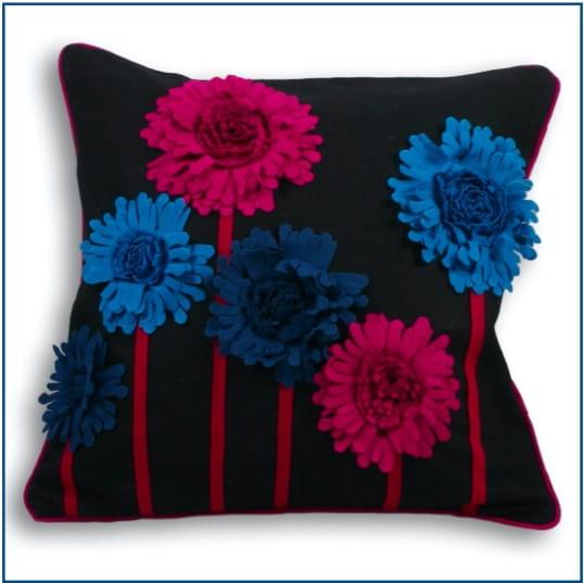 Maisie Black Cushion Cover