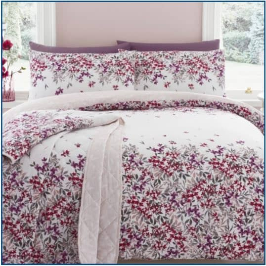 Malinda Duvet Set Blush