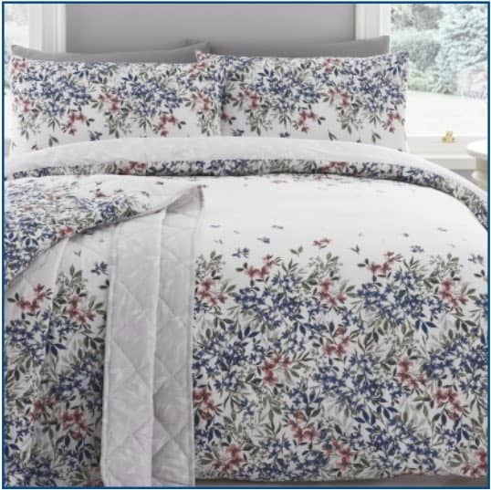 Malinda Duvet Set Chambray