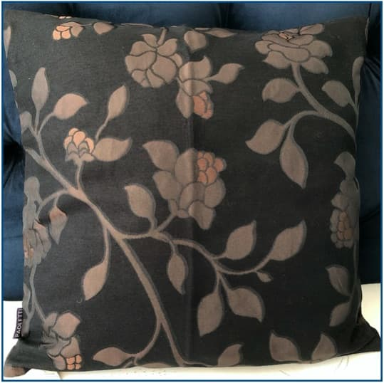 Nocturne Brown Cushion Cover