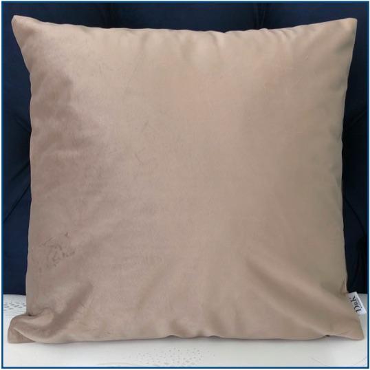 Velvet Taupe Cushion Cover