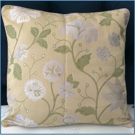 Babylon Jacquard Green Cushion Cover