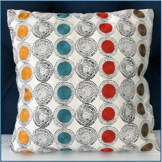 Circles Cushion Cover