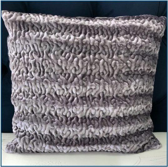 Mirra Grey Cushion Cover